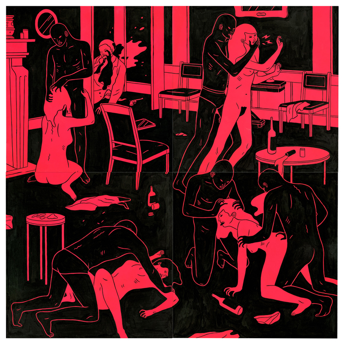 Cleon Peterson - We Become What We Are