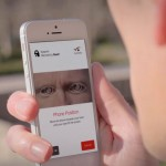 Eyeverify smartphone eyeprint ID scanner