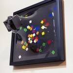 Dr. Yuki Matsueda's paintings try to leave their frames