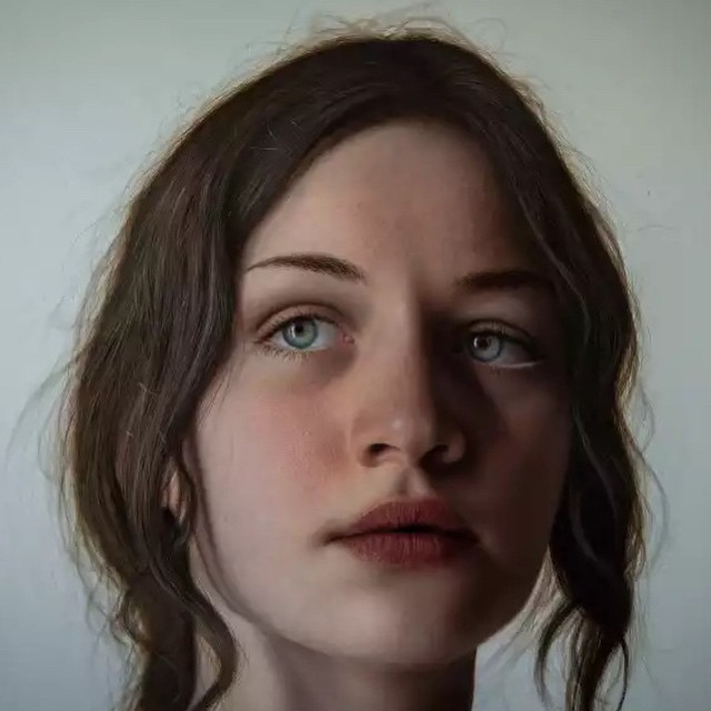 The hyper realistic painting of Marco Grassi now on #CILCULTURE