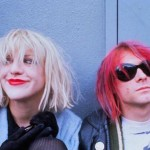 Courtney Love reads hate mail while Kurt wears a dress and lipstick