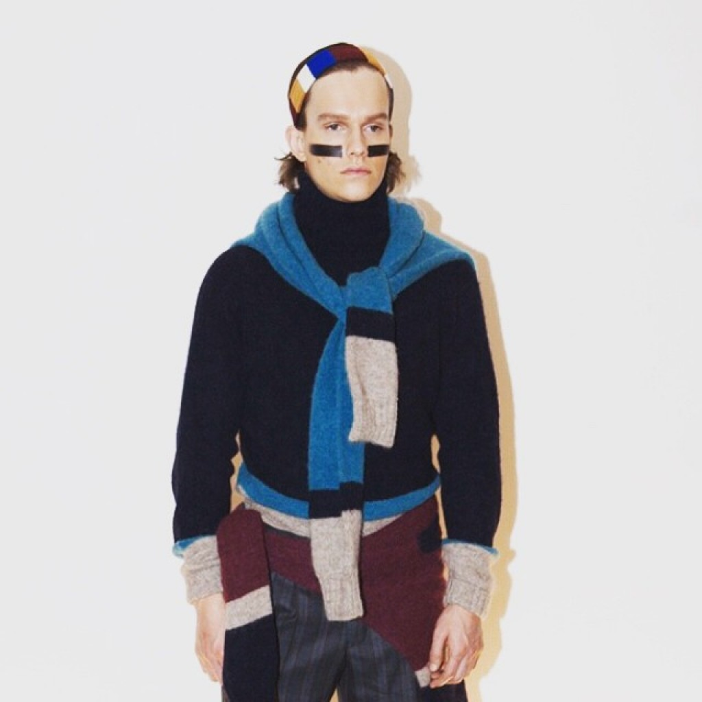 Luca Larenzas streetart inspired fashion for Fall 2015 now onhellip