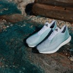 Adidas sneakers made from recycled ocean garbage