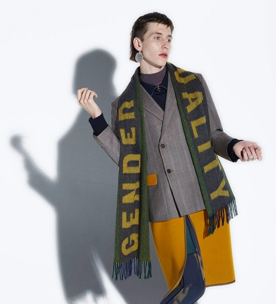 Acne Studios Gender Equality range for FW15