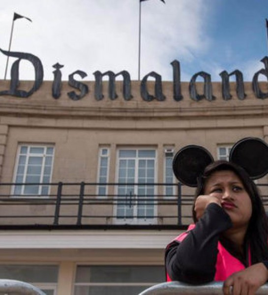 The trailer for Banky's Dismaland theme park will depress the hell out of you