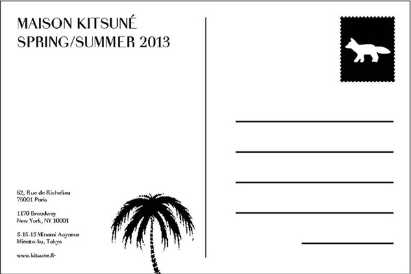 Maison Kitsune SS13
