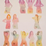 Dan Gluibizzi's 'Between Friends' watercolours
