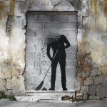 A. L. Crego street art GIFs