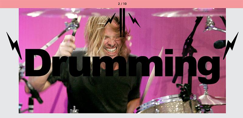 cumming or drumming game