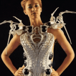 3D printed robotic spider dress gives you more personal space