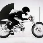 The Bandit9 EVE  motorcycle joins up with Konstantin Kofta's fashion line