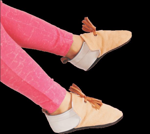 slipper-pink