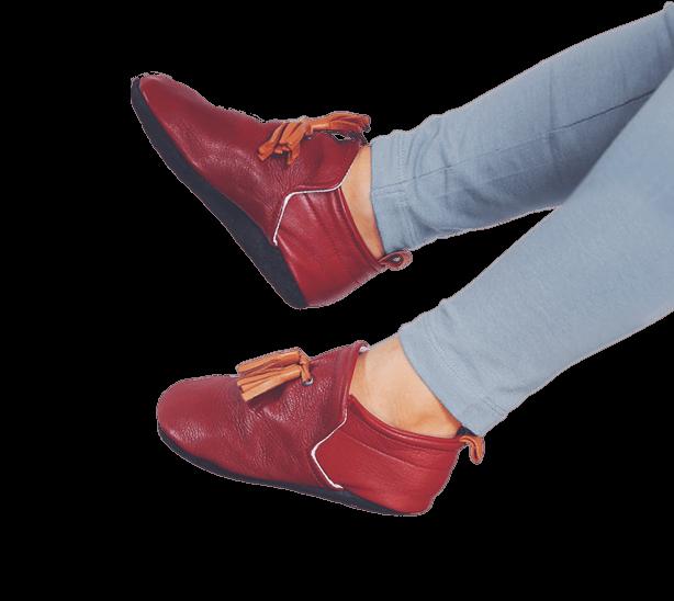 slipper-red