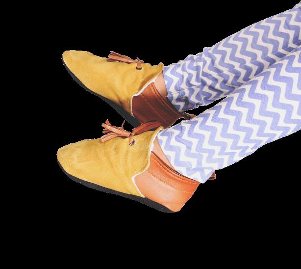 slipper-yellow