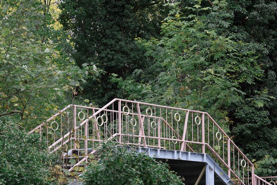 Berlin -   SpreePark - Bridge