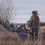 Simon Stalenhag's hyper-realistic sci-fi Scandinavian landscapes